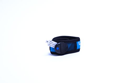 My Buddy Tag with Velcro Wristband, Blue - 1