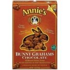 Annies Homegrown Bunny Grahams Chocolate 7.5 Oz. [Pack of 3]
