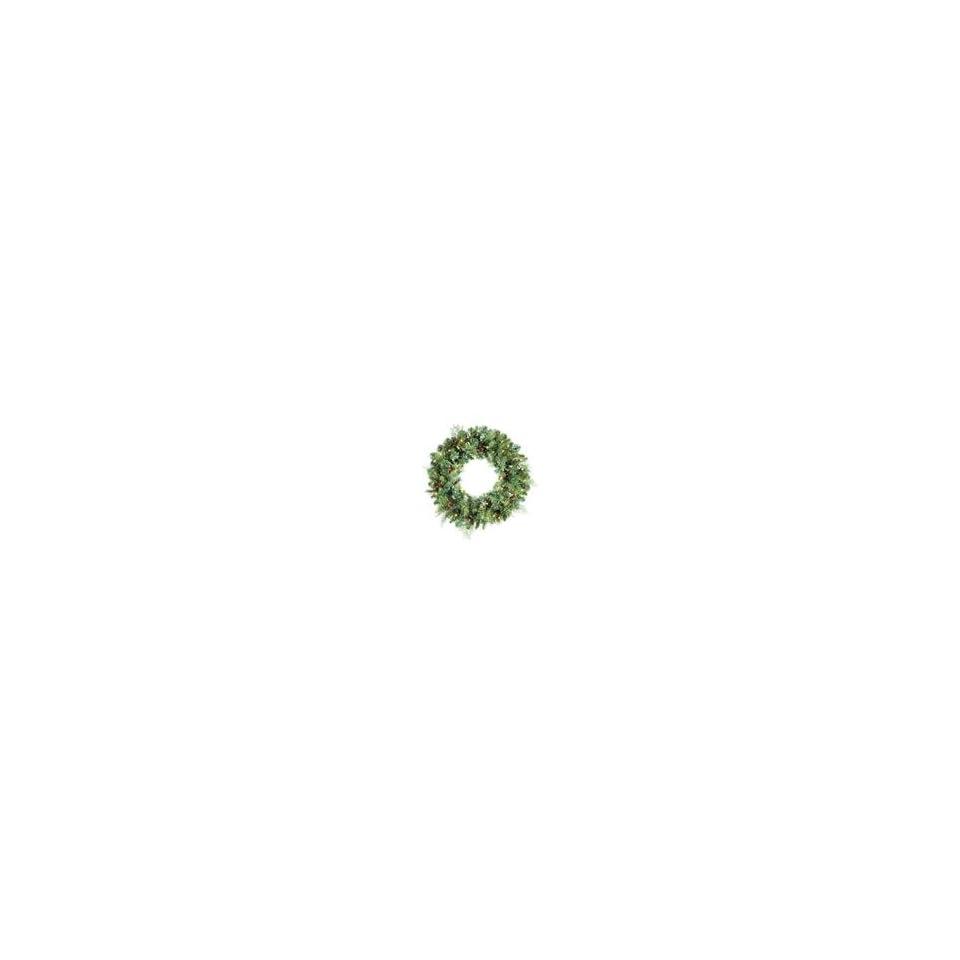 30 Pre lit Madison Pine Artificial Christmas Wreath 50 Clear Lig