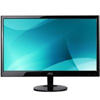 AOC E2051SN 20 - Inch Widescreen LED Monitor - Black