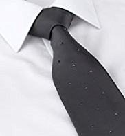 Autograph Silk Evening Tie with SWAROVSKI® ELEMENTS