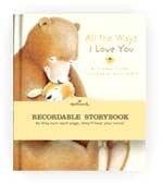 "Hallmark Books - Hallmark ""All The Ways I Love You"" Recordable Book By Hallmark - Kob9002"