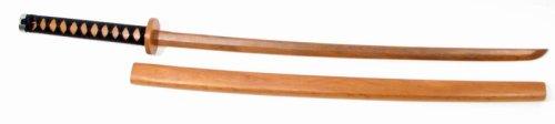 Bokken w/Cord Wrapped Handle & Wood Scabbard 40