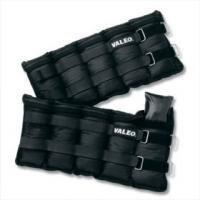 Valeo Adjustable Ankle/Wrist Weights 5 Pound Pair 2 unit