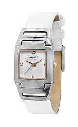 kenneth-cole-new-york-silver-with-white-strap-womens-watch-kc2814