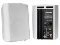"""VivoLink Active Speaker Set, White. 2x30W, 5,25"""", Standby function, P-240AMP (2x30W, 5,25, Standby function For rooms up to 50 mý, Including Brackets, Speaker Cable (10m) and EU Power Cord)"""