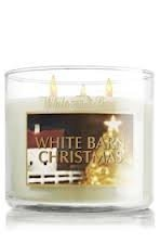 Bath & Body Works White Barn Christmas 2012 Candle - Limited Edition