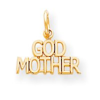 10k GODMOTHER CHARM - JewelryWeb