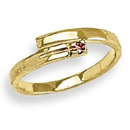 14k Yellow Gold  Baby/Children's Ring
