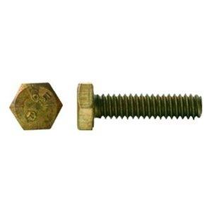 3//8-16 X 1 Hex Head Cap Screw Brass Package Qty 100