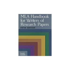 mla handbook for writers of research papers by joseph gibaldi Buy a cheap copy of mla handbook for writers of research by joseph gibaldi widely adopted by universities, colleges, and secondary schools, the mla handbook gives step-by-step advice on.