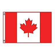 Annin Nylon Canada Flag, 3Foot by 5Foot Picture