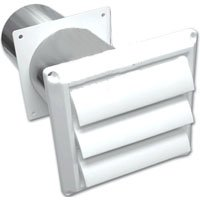 Lambro Industries Lam 267W 4-In Louver front-469961
