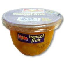 Dole Tropical Fruit in Juice, 7-Ounce Cups (Pack of 12)