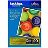 Brother Innobella Ledger-size Glossy Photo Paper, 20 sheets (BP71GLGR)