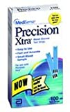 Precision Xtra Blood Glucose Test Strips 100 ea