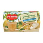 Del Monte Diced Pears No Sugar Added 4 - 4 oz cups (Pack of 6)