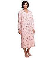 Floral Quilted Dressing Gown