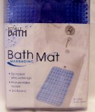 Totally Bath Massaging Bath Mat - Blue