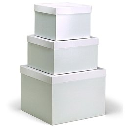 the container store 2 pc gift box with lid. Black Bedroom Furniture Sets. Home Design Ideas