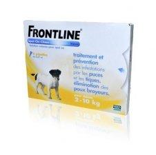 Traitement anti puces et tiques pour chien 2-10 kg
