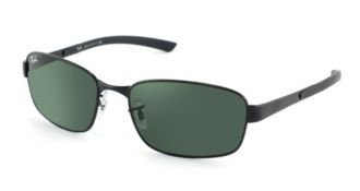 Ray-Ban Sunglasses – RB3413 / Frame: Black Lens: Green