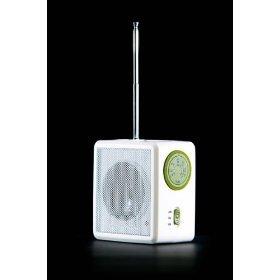 Aquabourne Duschradio Kurbel- und Solar radio