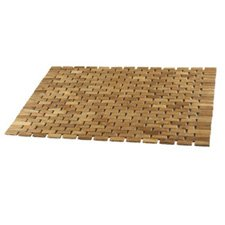Conair DPSHMATR Pollenex Roll-Up Teak Shower Mat (SPA mat)