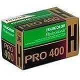 Fujifilm 16326066 Fujicolor Pro 35mm 400H Color Negative Film ISO 400 - 5 Rolls of 36 Exposures (Green/White/Purple)