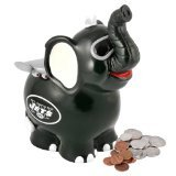 NFL New York Jets Thematic Elephant Piggy Bank - 1