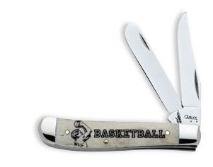 Case 08752 High School Sports Basketball Mini Trapper Knife
