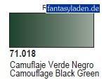 Vallejo Camo Black Green Paint, 17ml