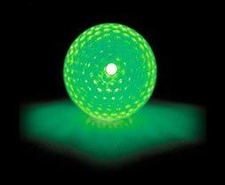 Image of Cn is believing Nitelite Mach 01 Glow In The Dark Golf Balls 3 Balls And 6 Light Sticks