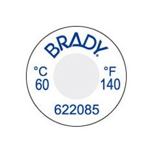 Irreversible Temperature Indicating Materials, 1-Level, 60° C/140°F front-529880