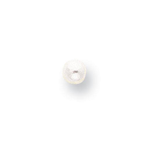 White 3.5mm Half-Drilled Add-A-Cultured Pearl