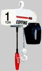 Coffing Jlc2016-20-3, 1 Ton Electric Hoist 20' Lift