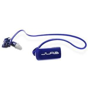 JLAB Go Waterproof/Sweatproof/Sports MP3 Player Headphones (Blue/silver)