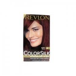 revlon coloration permanente colorsilk beautiful color couleur radieuse longue tenue couleur 49 brun auburn - Coloration Revlon