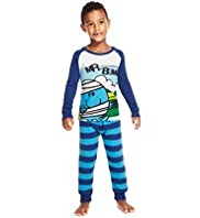 Pure Cotton Mr. Bump Striped Pyjamas