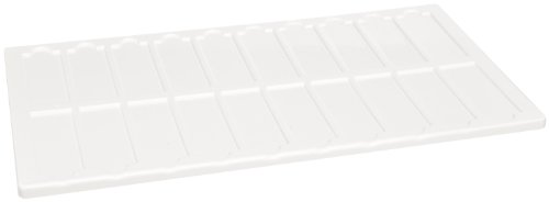 Kartell 211615 Microscope Slide Tray Holder For 100 Microscope Slides (Case Of 10)