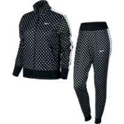 Nike Poly Cuffed Aop-Tracksuit-Tuta sportiva da donna MULTICOLORE negro / blanco (black / white / black / white) M