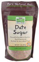 NOW Foods Real Food Date Sugar -- 1 lb