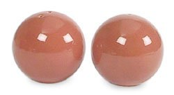 Sasaki Colorstone Terracotta Salt & Pepper Set