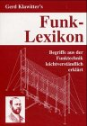 Funk- Lexikon f�r Kurzwellenh�rer. Be...