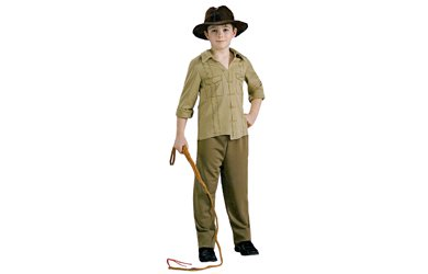 Big Boys' Indiana Jones Costume Medium front-513231