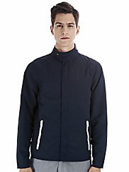 Boxfresh BARDIA Mens Navy Blue Windbreaker Jacket-xl