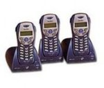 Binatone DECT Cordless Telephone with Answering Machine MD2000 Triple - Ocean blue
