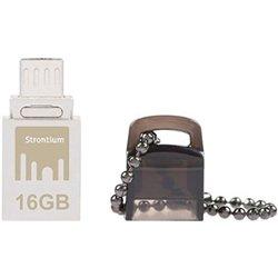 Strontium Nitro 16 GB USB 2.0 OTG Pen Drive