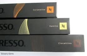 Nespresso Limited Edition 30 Capsules, Vanilio, Caramelito, Ciocattino