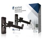 K?nig 20Kg Speaker Mount (Pack of 2)